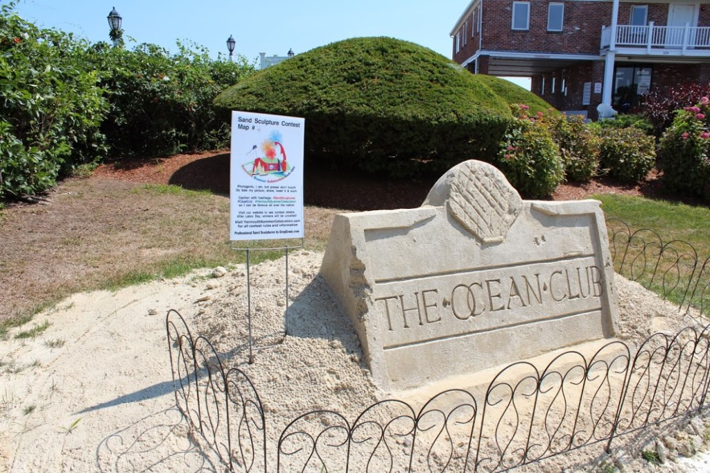 sand sculpture cape cod