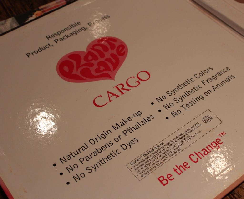 cargo cosmetics plant love