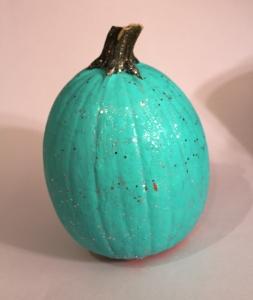 tiffany blue pumpkin diy
