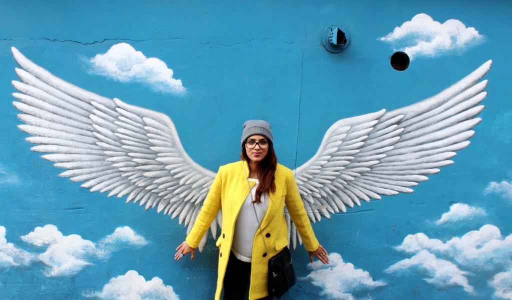 angel wings naksan park