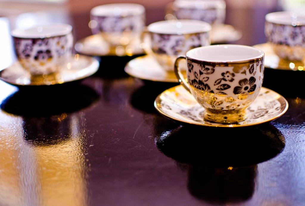 tea cups bridal shower