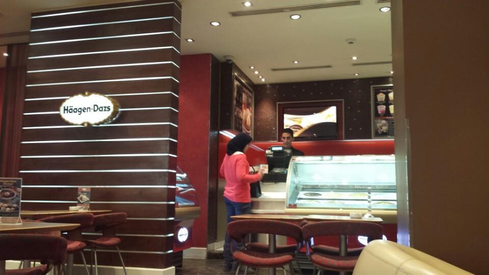 Ice-cream inside Citystars Mall