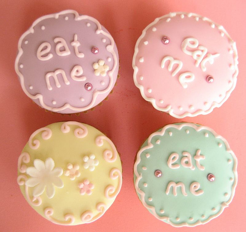 eat me cupcakes