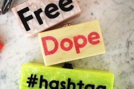 hashtag clutch