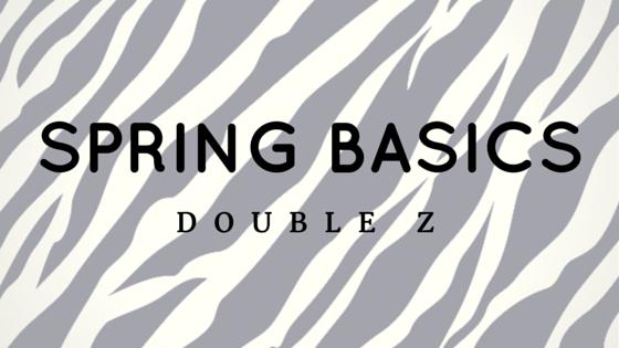Spring 2015 Zebra Print