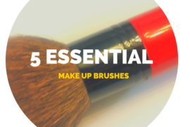 5 essential make up brushes
