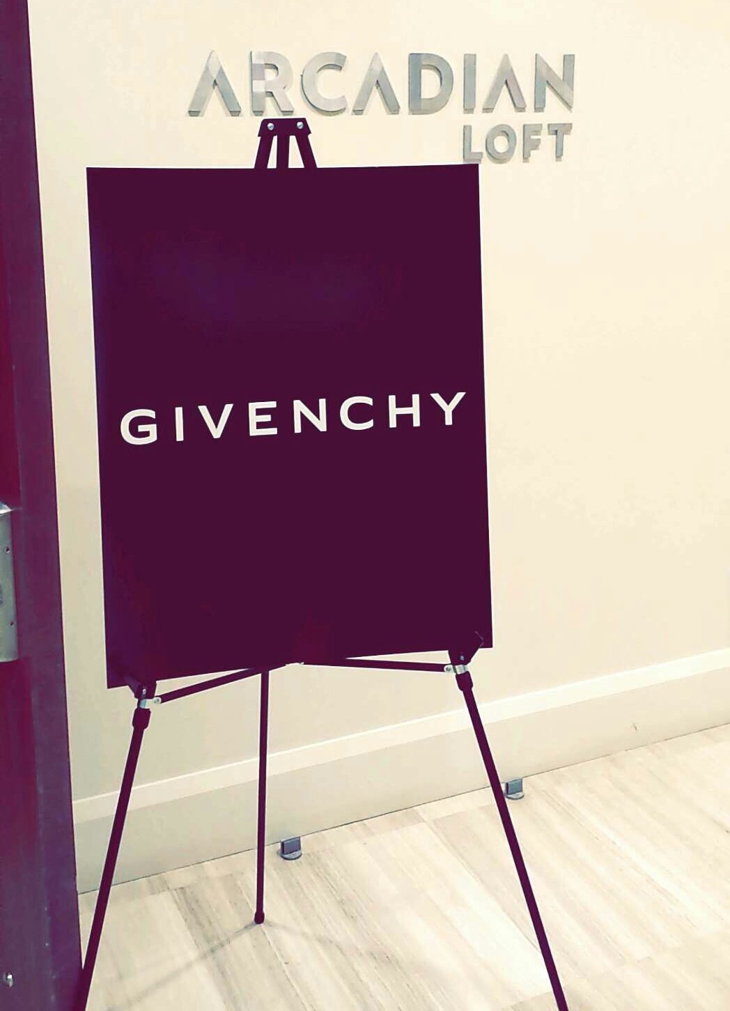 givenchy vip dinner