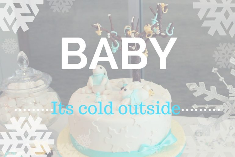 baby its cold outside baby shower