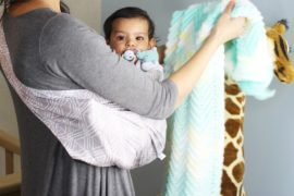 How To Use a Baby Sling and the many benefits of one