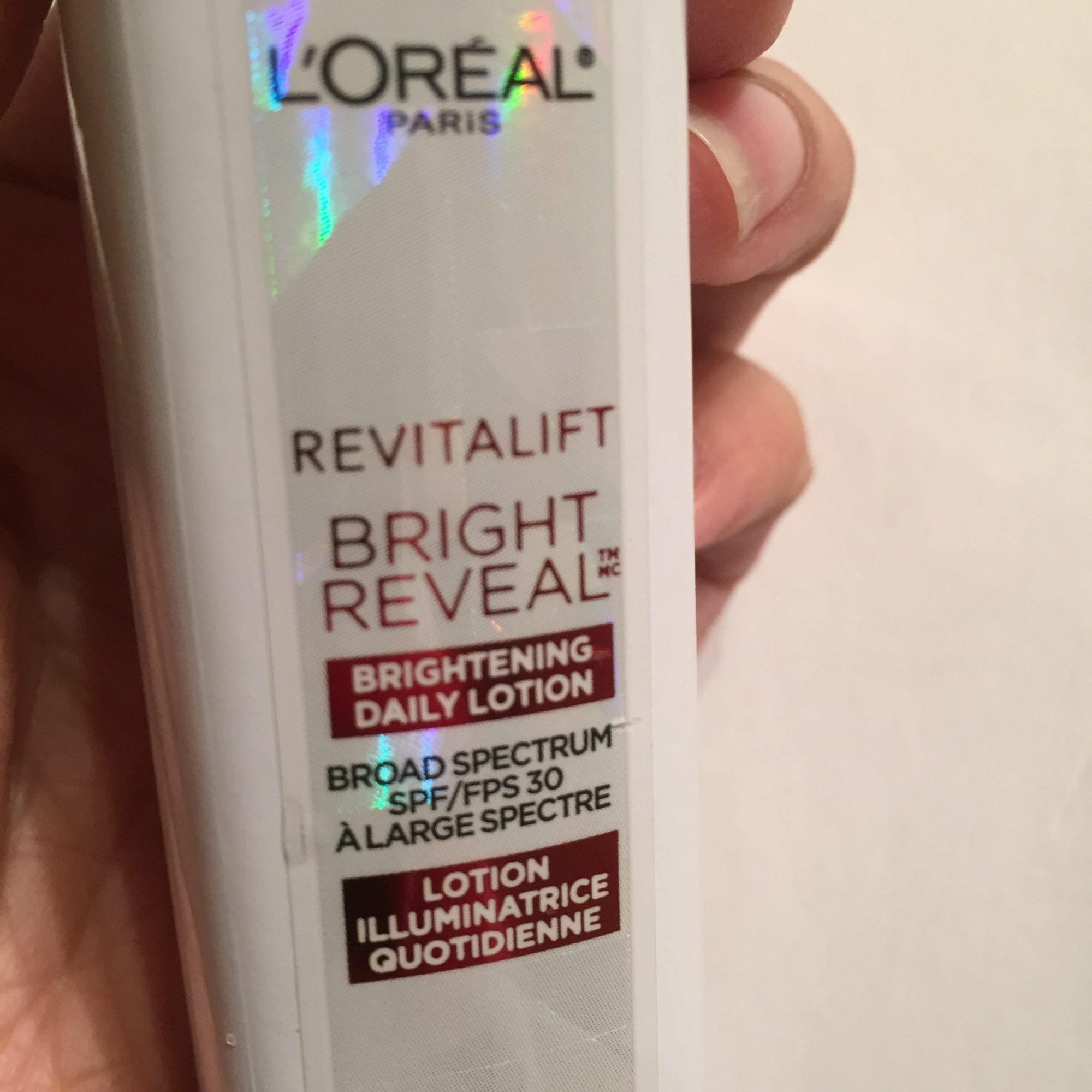 spf 30 bright reveal