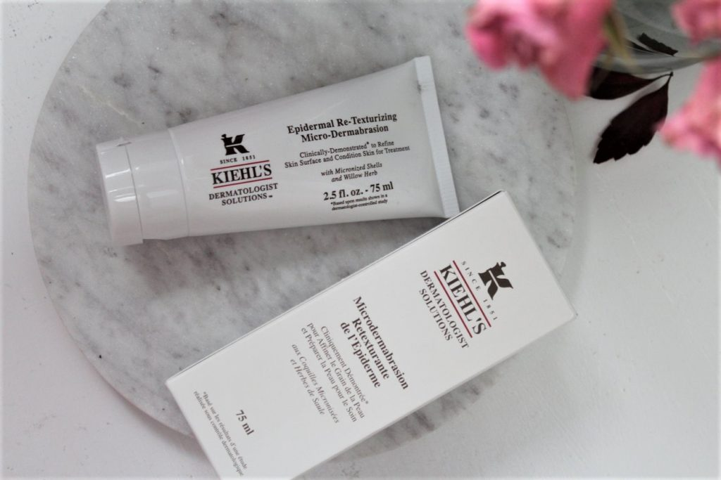 kiehls microdermabrasion - october favourites