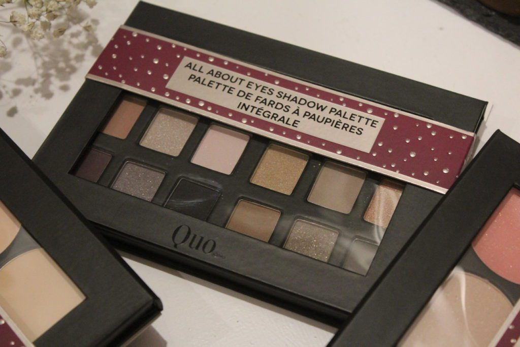 quo holiday makeup