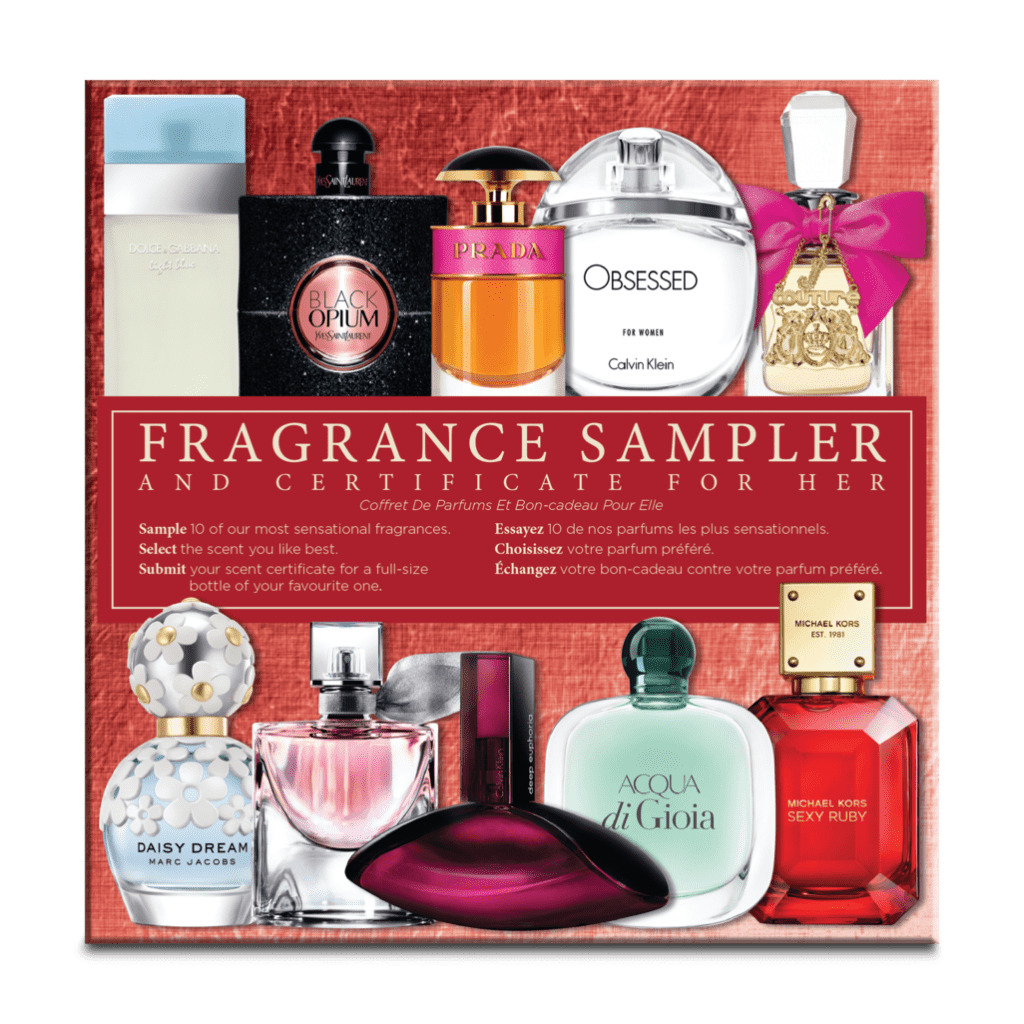 women fragrancesampler