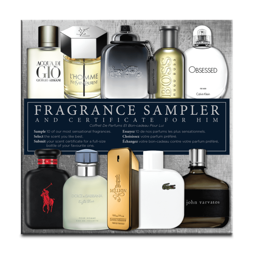 Men Fragrance Sampler